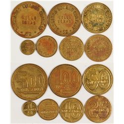 Sessions Lumber Co. Tokens (Wells, Texas)