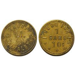 Troop M 3 Calvary Texas Token