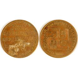 Bartles Gasoilne & Oil, Milwaukee, WI Token