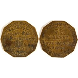 Bressy Clothier Token (Havre, France)