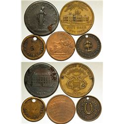 Early U.S. Tokens