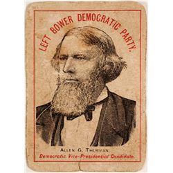 Allen G. Thurman Political Card