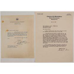 Richard Nixon Signed Letters (2)