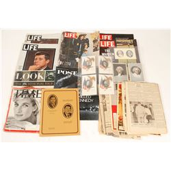Presidential Collection Magazine, Periodicals (Most JFK)