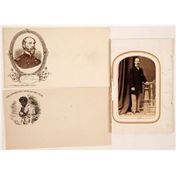 Civil War Photos and Envelopes