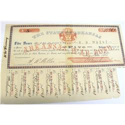 Arkansas Civil War Bond