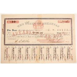 Confederate State Bond