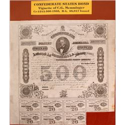 Confederate States Bond