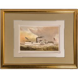 S. S. General Hooker--Currier & Ives Lithograph