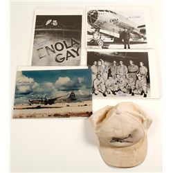 Enola Gay Group with Tibbets Autographs
