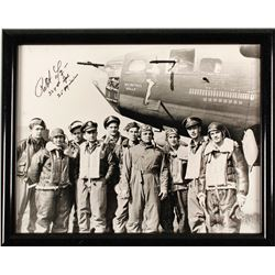 Autographed Memphis Belle Photo