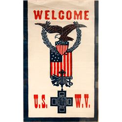 Banner U.S. War Veterans