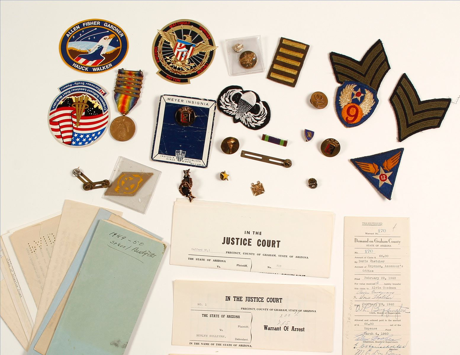US Military Medals, Patches and Pins