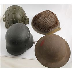 Four Military Hats