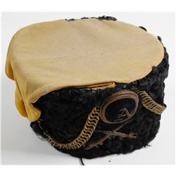 Military Hat Made by Warnock Uniform Company, New York
