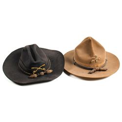 Two Early Cavalry Hats