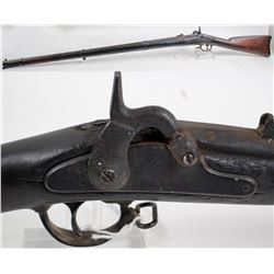 1861 Model Springfield 3 band musket .58 cal.