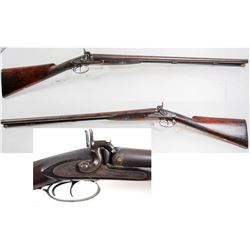 Moore & Harris 10 ga. Black Powder Percussion side by side Shotgun