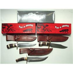 Fox & Hound Large Knives (3)