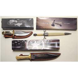 Three Fancy Knives