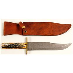 Bear MGC Bowie Knife with sheath