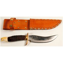 Handmade Sheath Knife with sheath