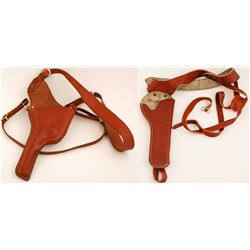 Two right hand shoulder Holsters