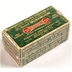.32 caliber Remington UMC central fire smokeless cartridges