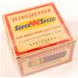 12 gauge Winchester Super W Speed paper shotgun shells