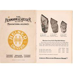 Heiser Holster Catalog