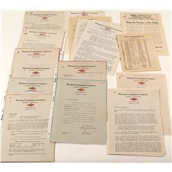 Western Cartridge Large Ephemera Collection