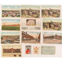 Gun Makers of America Post Cards, Stamps and Membership Card