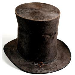 Tall Beaver Top Hat