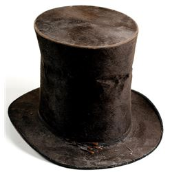 Tall Beaver Top Hat