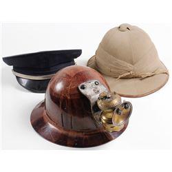 Three Vintage Hats