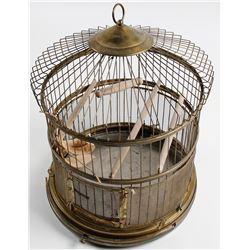 Brass Birdcage