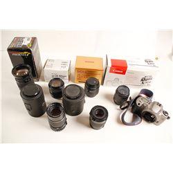 Assorted Camera Lens