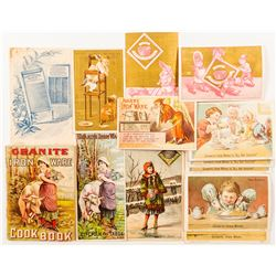 Graniteware Trade Cards and Recipe Book