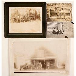 Log Cabin Photographs