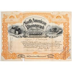 North American Phonograph Stock