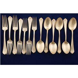 Sterling Silver Forks & Teaspoons