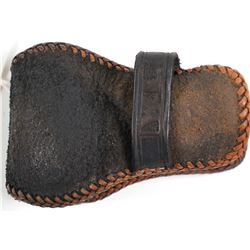Union Pacific Stage Lines ticket punch leather holster