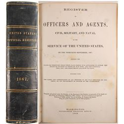 Book of United States Official Register
