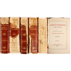 Encyclopedia of American Biography (5 Volumes)