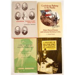 Arizona Territory Books (4)