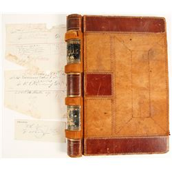 Bodie Documents and an Old Ledger Binding