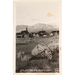 Real Photo Postcard of Bodie