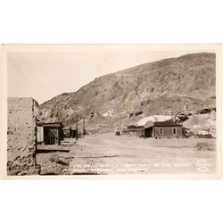 Real Photo Postcard of Calico