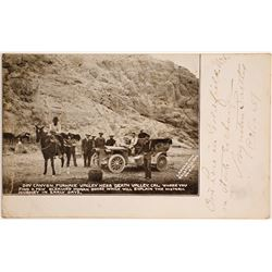 Early Death Valley Postcard