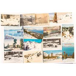 Postcards of Lake Tahoe Area Snow!